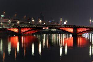 夜景スポットとして有名!吾妻橋