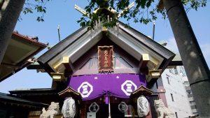 鶯谷のパワースポット神社は「元三島神社」