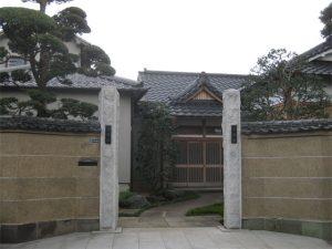 鶯谷にある「津梁院」は天台宗の寺院