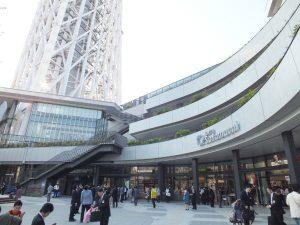 お買い物、グルメ、夜景、一日中楽しいデートになるはず!「東京スカイツリー・ソラマチ」